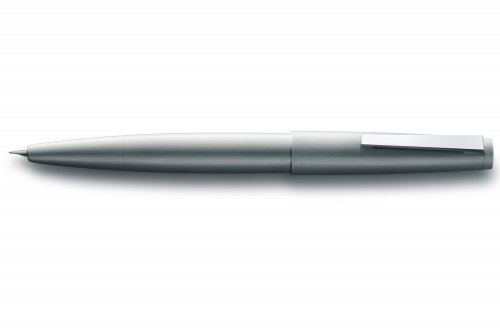 Перьевая ручка Lamy 2000 Brushed Stainless Steel перо F