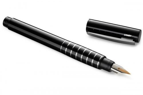 Перьевая ручка Lamy Accent Black Diamond Lacquer перо F