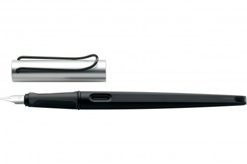Перьевая ручка для каллиграфии Lamy Joy Black Silver перо 1,9 мм