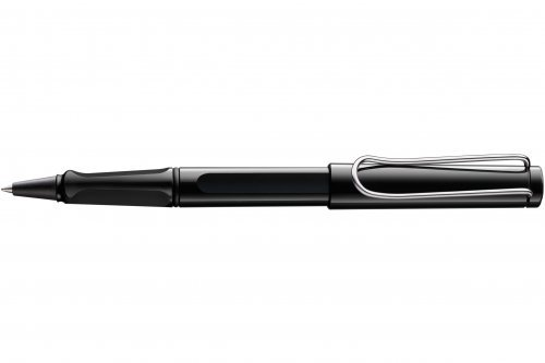Ручка-роллер Lamy Safari Shiny Black