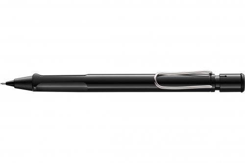 Механический карандаш Lamy Safari Shiny Black 0,5 мм